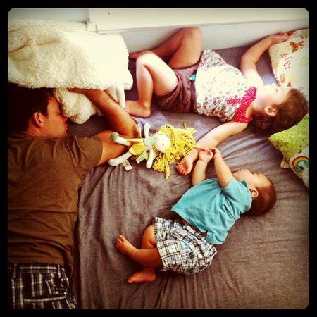 Daddy nap