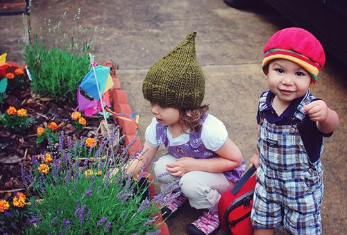 hats and lavender